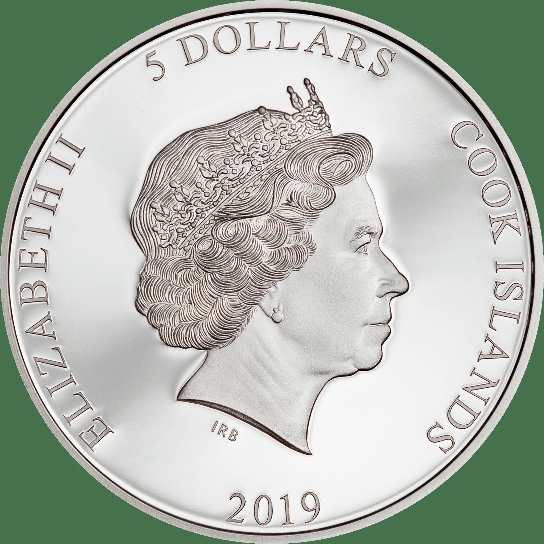 CK 5 dollars 2019
