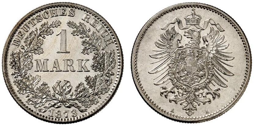 DE 1 Mark 1873 A