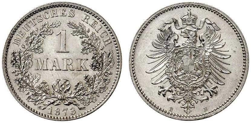 DE 1 Mark 1873 B