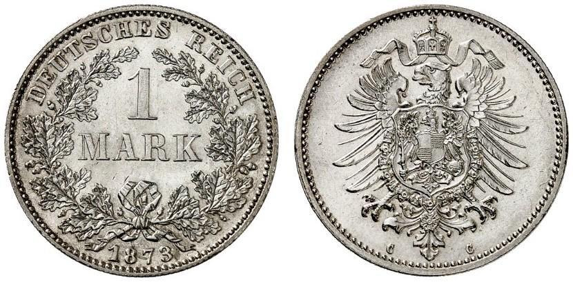 DE 1 Mark 1873 C