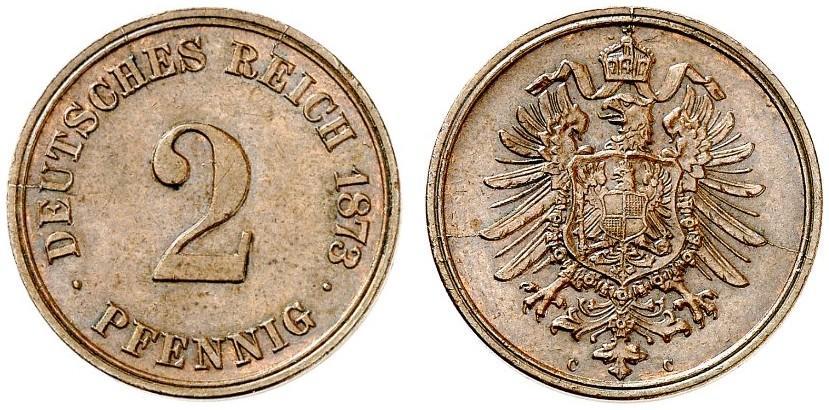 DE 2 Pfennig 1873 C