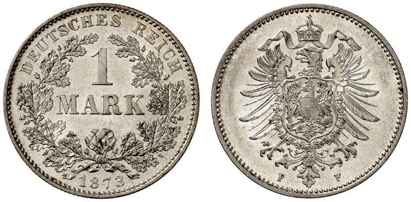 DE 1 Mark 1873 F