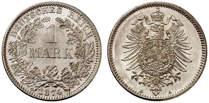 DE 1 Mark 1874 A