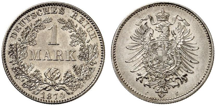 DE 1 Mark 1874 C