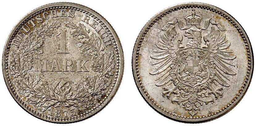 DE 1 Mark 1875 A