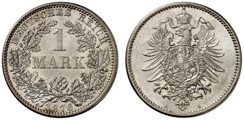 DE 1 Mark 1876 A