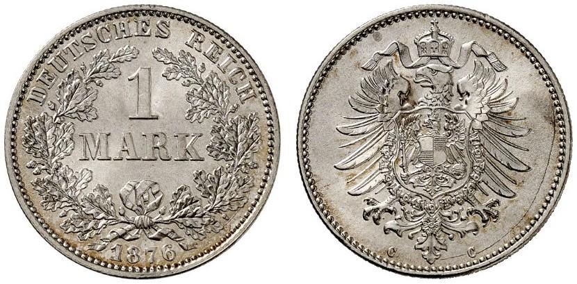 DE 1 Mark 1876 C