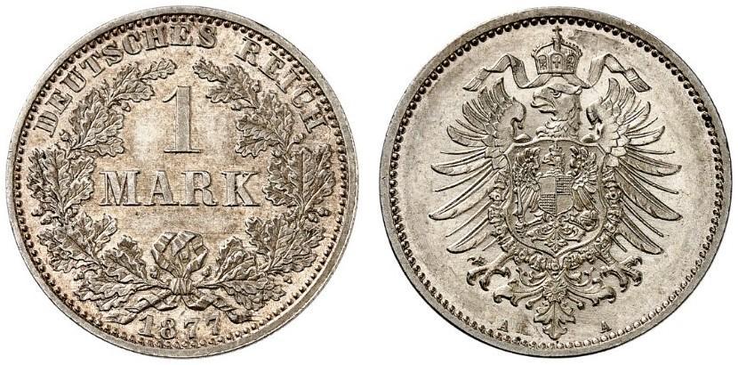 DE 1 Mark 1877 A