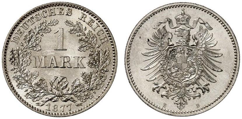 DE 1 Mark 1877 B