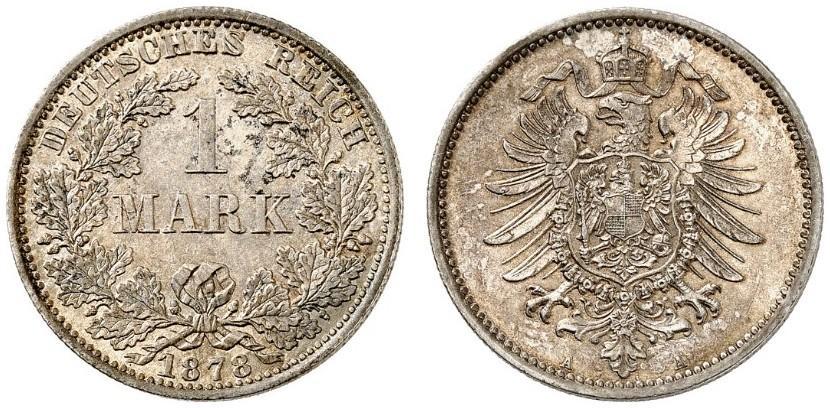 DE 1 Mark 1878 A