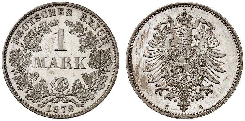 DE 1 Mark 1878 C