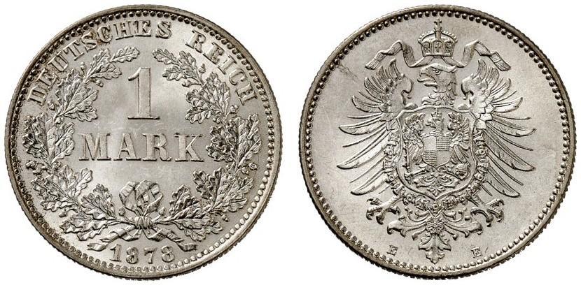 DE 1 Mark 1878 E