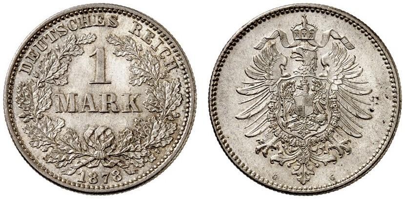 DE 1 Mark 1878 G
