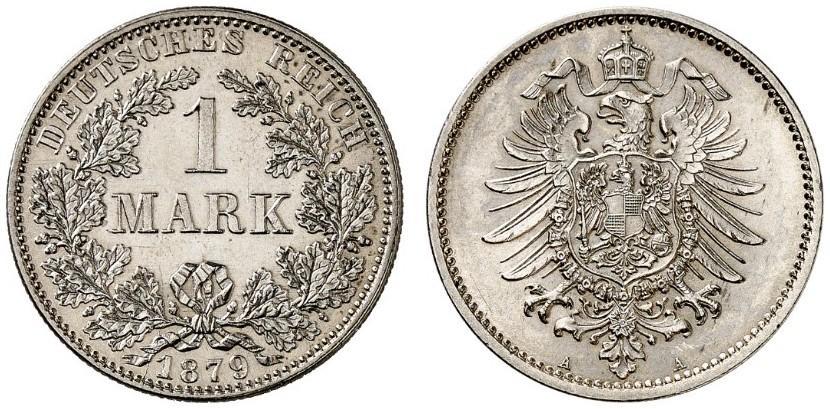 DE 1 Mark 1879 A