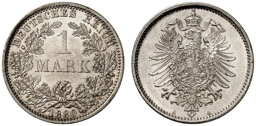 DE 1 Mark 1880 A