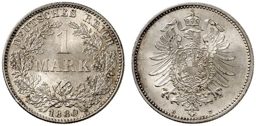 DE 1 Mark 1880 D