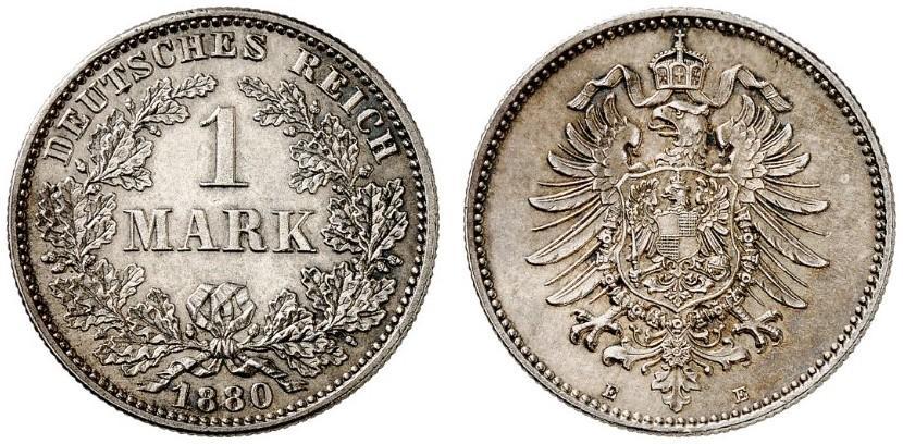 DE 1 Mark 1880 E