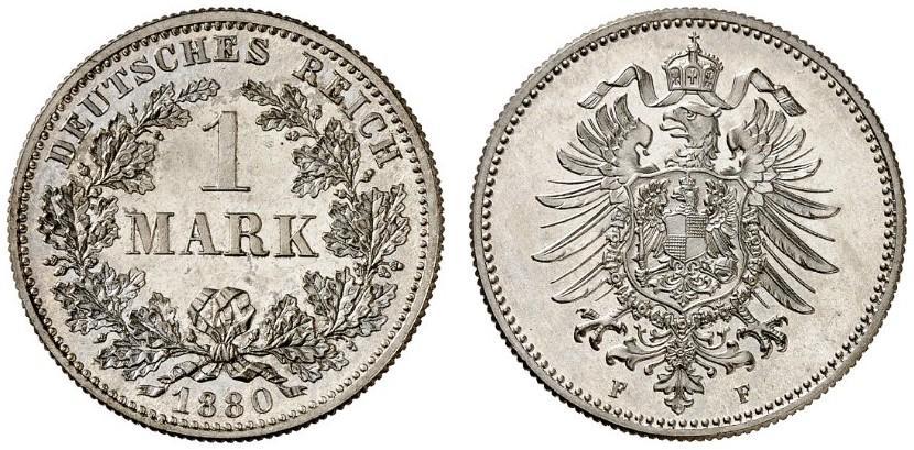 DE 1 Mark 1880 F