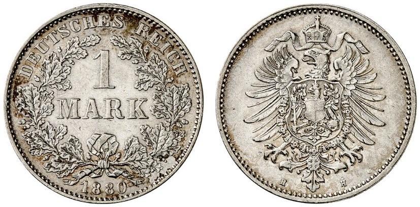 DE 1 Mark 1880 H