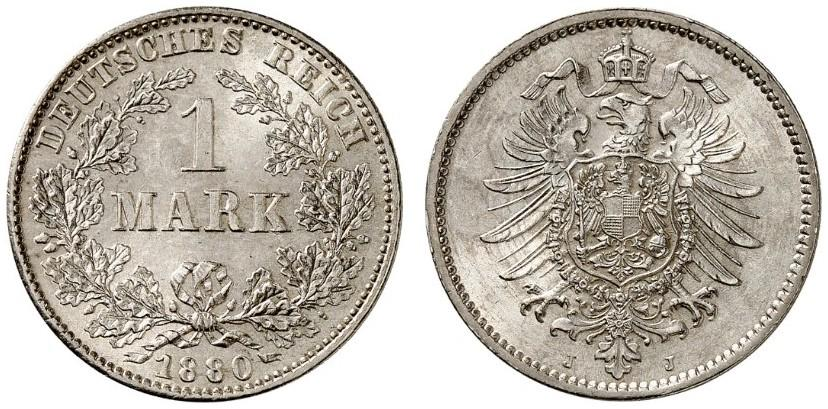 DE 1 Mark 1880 J