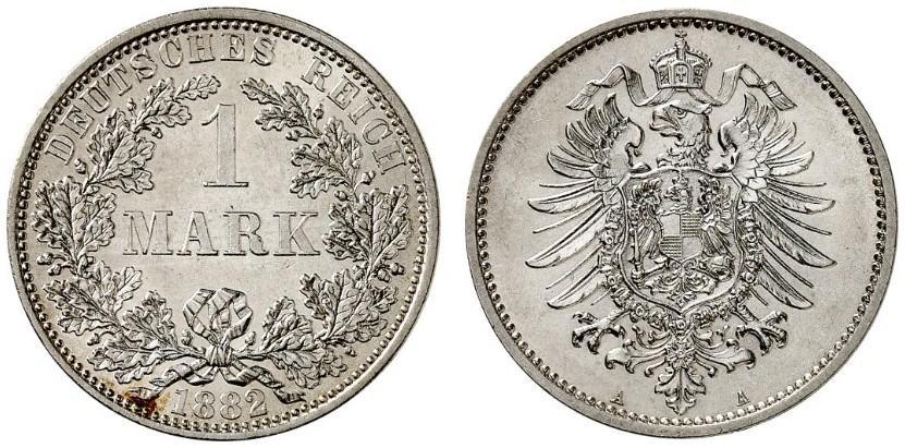 DE 1 Mark 1882 A