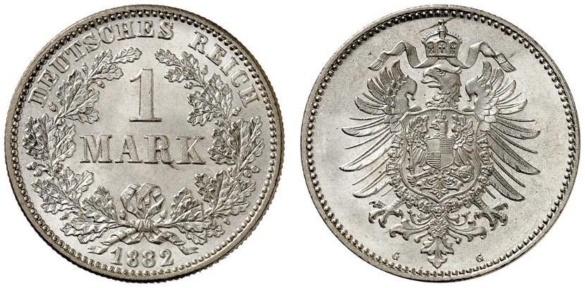 DE 1 Mark 1882 G
