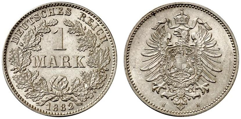 DE 1 Mark 1882 H