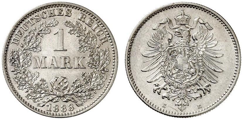DE 1 Mark 1883 E
