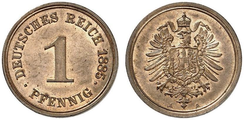 DE 1 Pfennig 1885 A