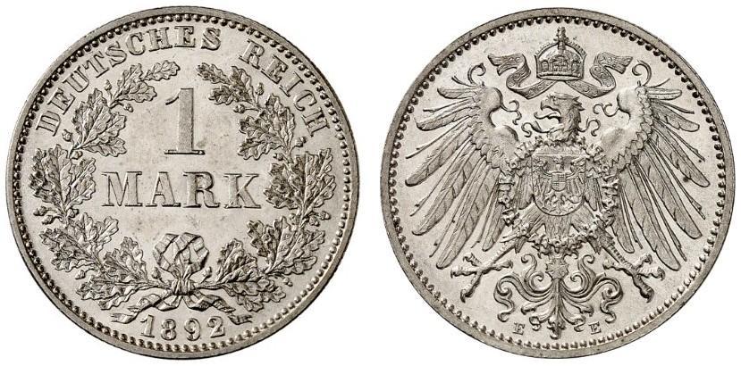 DE 1 Mark 1892 E
