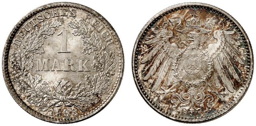 DE 1 Mark 1893 D