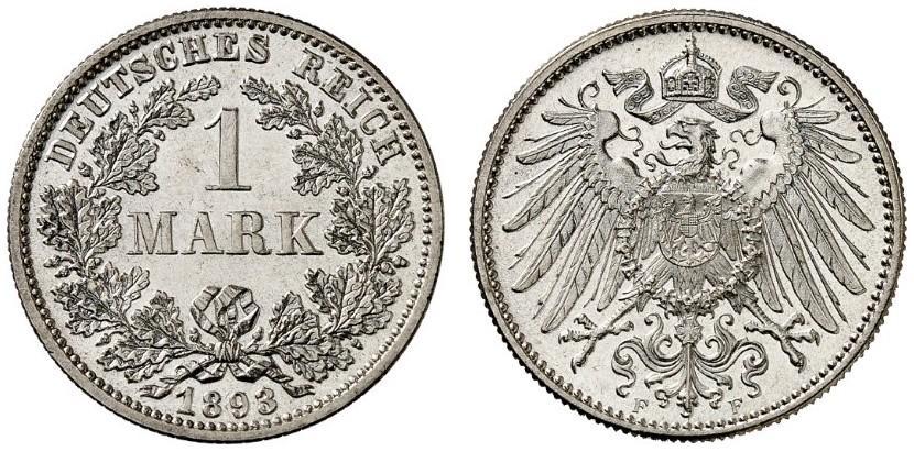 DE 1 Mark 1893 F
