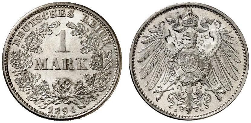 DE 1 Mark 1894 G