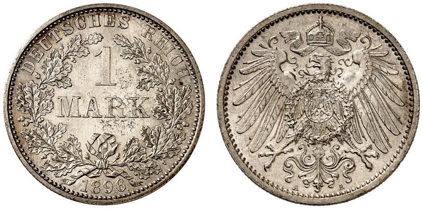 DE 1 Mark 1896 A