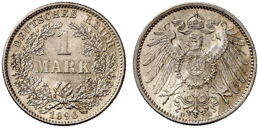 DE 1 Mark 1896 D