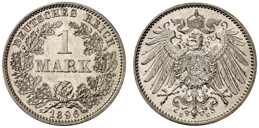 DE 1 Mark 1896 F