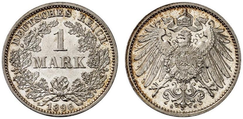 DE 1 Mark 1896 G