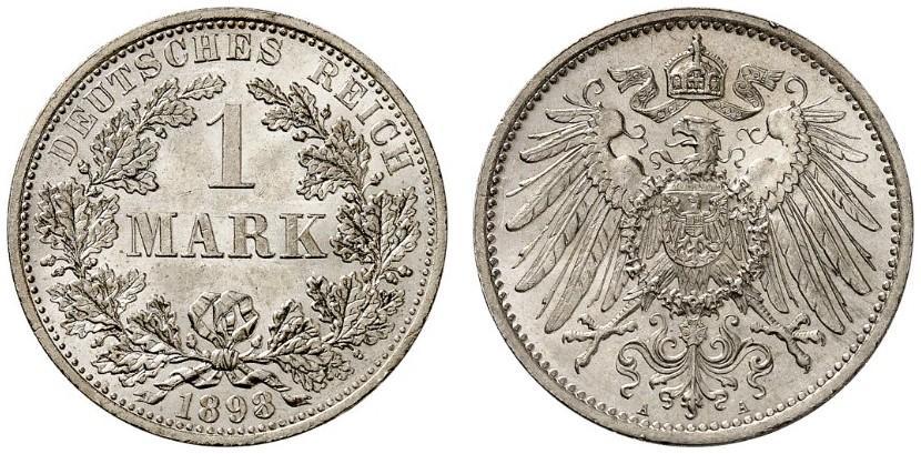 DE 1 Mark 1898 A