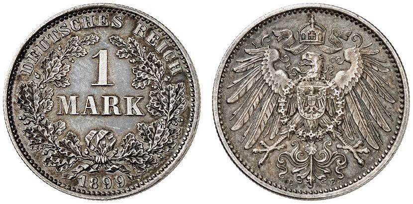 DE 1 Mark 1899 E
