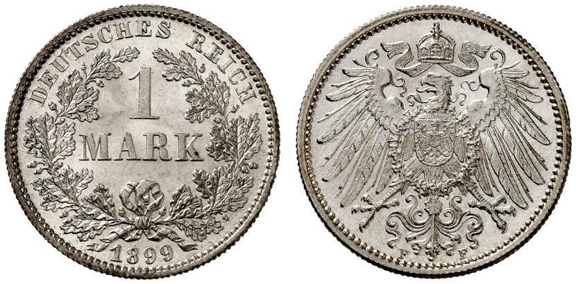 DE 1 Mark 1899 F