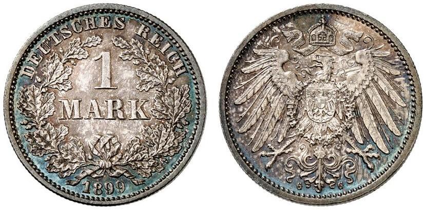 DE 1 Mark 1899 G