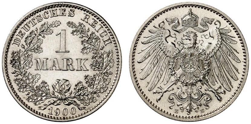 DE 1 Mark 1900 E