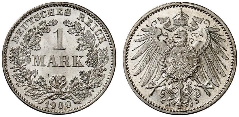 DE 1 Mark 1900 G