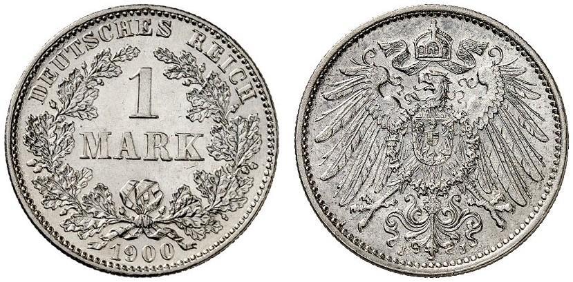 DE 1 Mark 1900 J