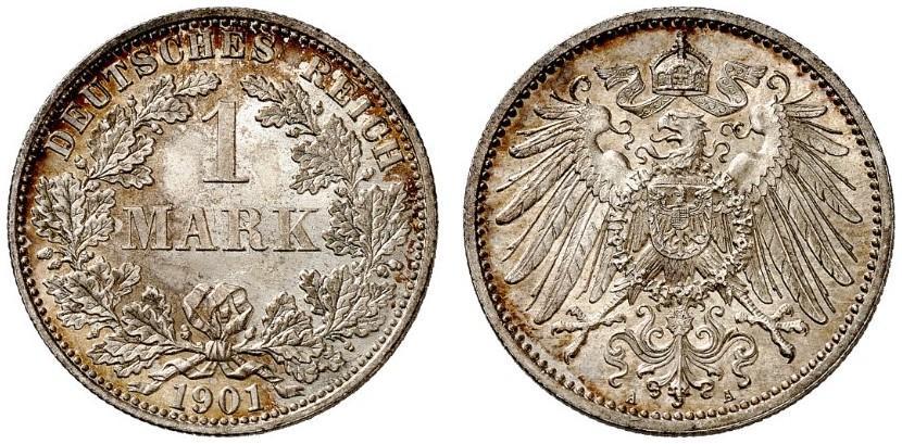 DE 1 Mark 1901 A
