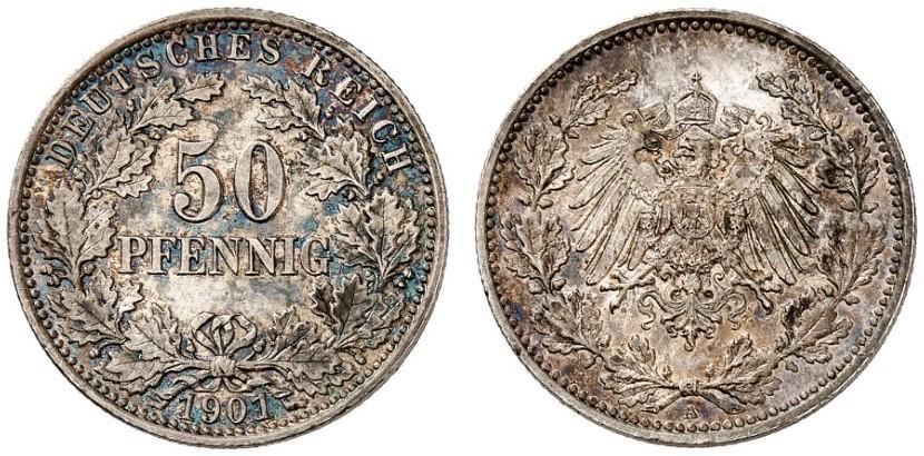 DE 50 Pfennig 1901 A
