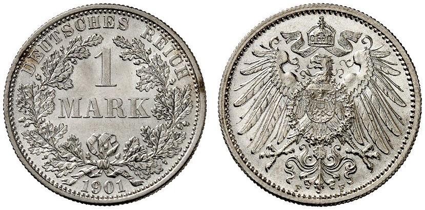 DE 1 Mark 1901 G