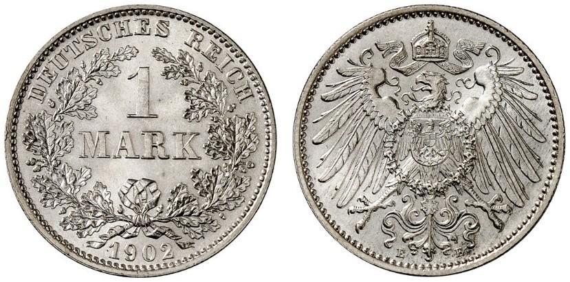 DE 1 Mark 1902 E
