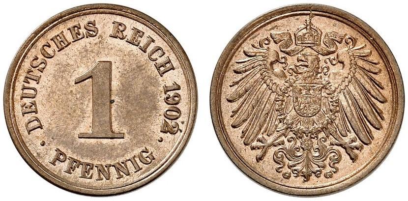 DE 1 Pfennig 1902 G
