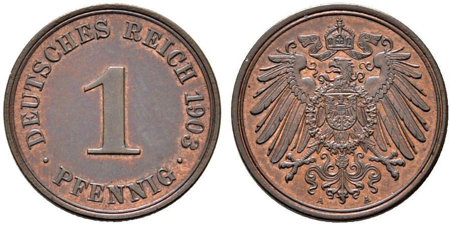 DE 1 Pfennig 1903 A